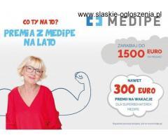 praca w Niemczech opieka 1400 EURO